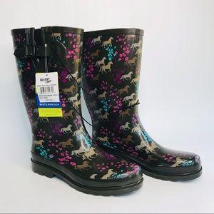 Western chief women's waterproof boots Sz:9